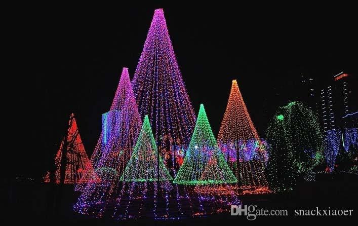 50m 500LED punge luce fata decorazione di Natale Xmas Led Natale decorazione della festa nuziale luci 110 v 220 v