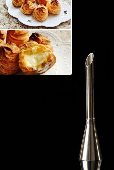 Stainless Steel Icing Piping Nozzles Cream Puff Cream Injector Pastry Cake Beak Tool Cake Decorating Confectionery Tool Nozzle