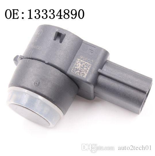 1Pair originale PDC Sensori di parcheggio wireless 13.334.890 sensore ad ultrasuoni per Buick Chevrolet GMC 13.334.890 0263013193 Ricambi auto