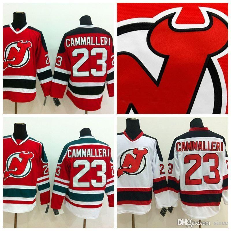 2021 2016 New, Cheap New Jersey Devils Hockey Jerseys #23 Mike ...