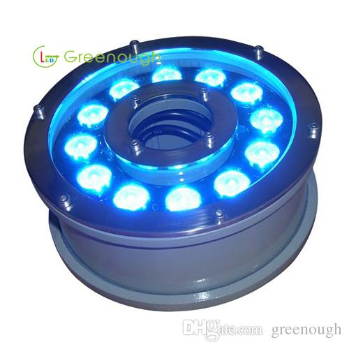 2019 DC24V LED Fountain Light 12x3W Garden Lights RGB Underwater Swimming  Pool Lighting Stainless Steel LED In Ground Lamp From Greenough, $86.61 |  ...