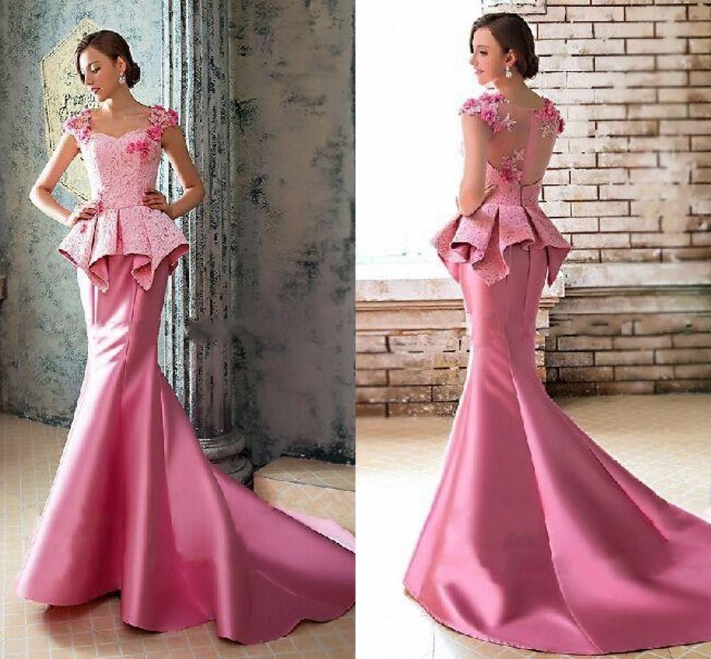 Vestido De Festa Longo Long Evening Dress 2016 Mermaid Prom Dress ...