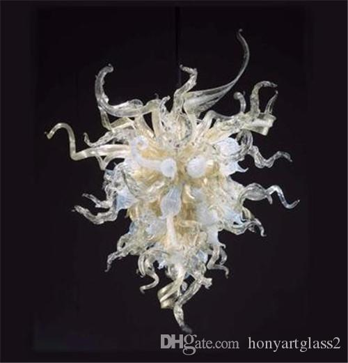 Moderne et Petit lustre en cristal 100% soufflé bouche Murano style Art décoratif style turc Lustre pour Home Décor