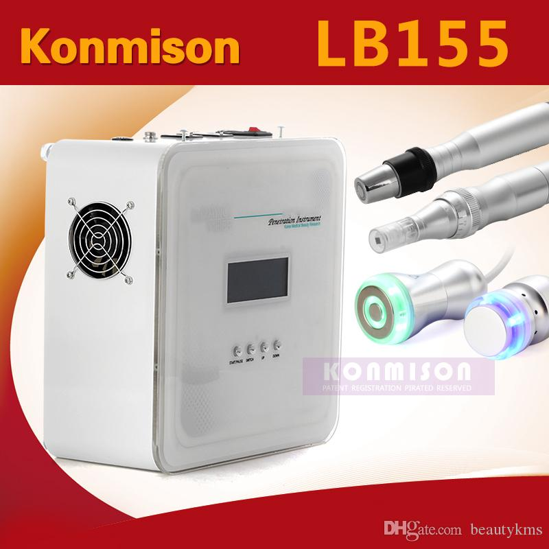 4 In 1 Multifunction No Needle Mesotherapy Machine With RF Cooling Galvanic Derma Pen For Skin Rejuvenation Face Lifting Facial Machine