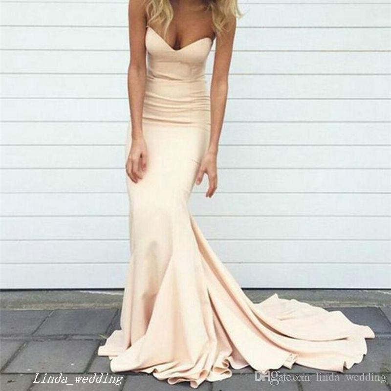 2019 Boutique Prom Dress Mermaid Sweetheart Lungo formale Occasioni speciali Dress Pageant Evening Party Dress Plus Size abiti da festa
