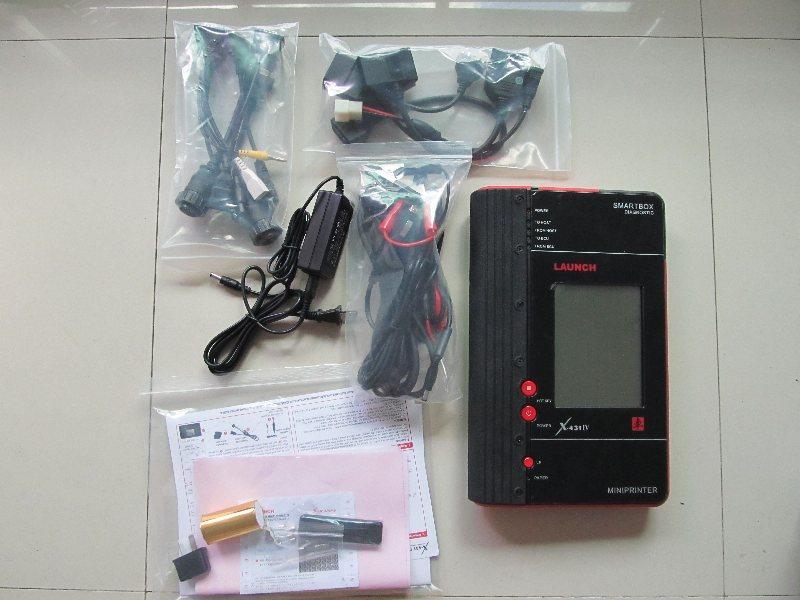 다중 언어 자동 스캐너 무료 배송 원래 발사 X431 마스터 IV 업데이트 온라인 발사 X431 IV