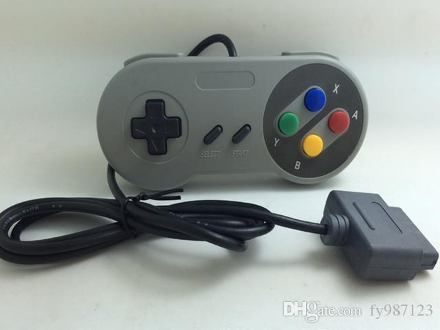 Vendita calda Controller a 16 bit per Super per Nintendo SNES Console di controllo della console di sistema NES