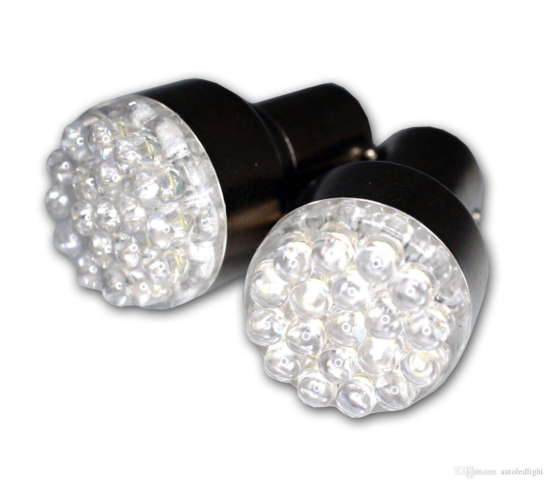 LED Bulbs Brake turn signal light 3157 4157 3156 1157 1156 BA15S G18 white Red Round fog Bulb 12V Front