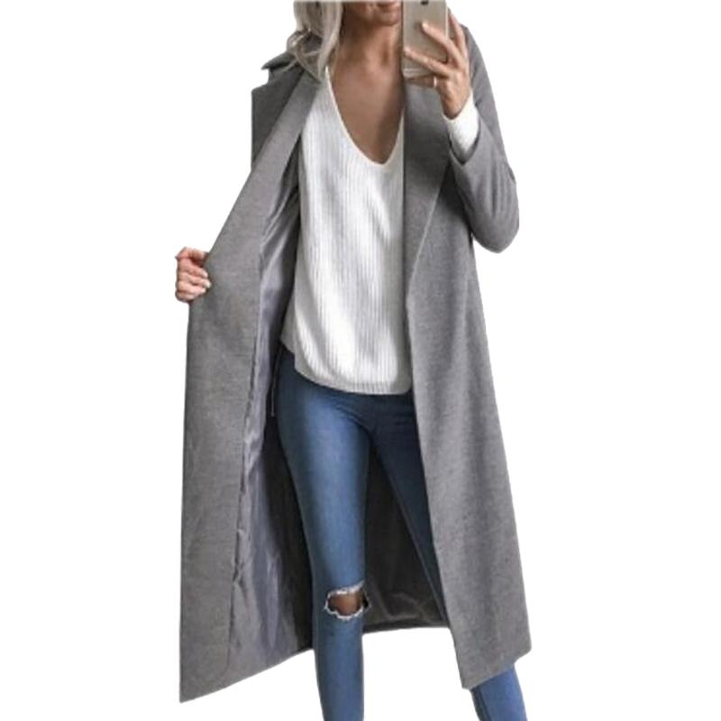 new arrival e130d 36766 Acquista Donna Inverno Cardigan Giacche Cappotti Elegante Spessa Cappotti  Casual Femininas Oversize Donna Donna Giacche Lunghe Femme Plus Size GV369  A ...