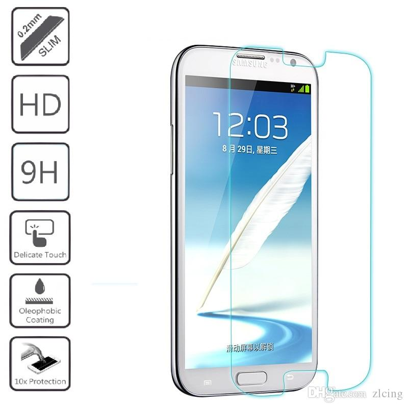 300pcs Ultra Thin 9H Premium Tempered Glass Screen Protector For Samsung Galaxy S2/S3/S4/S5/S6/S3 S4 mini/S5mini/S7562/i9082 Duos Explosion