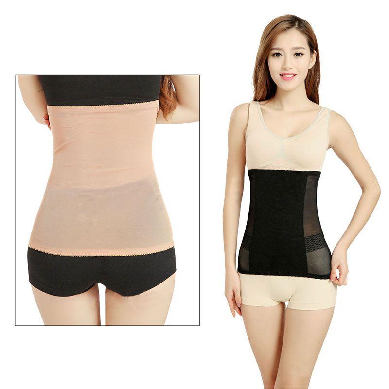 Invisible Body Shaper Waist Cincher Girdle Corset Tummy Trimmer Slimming Belt