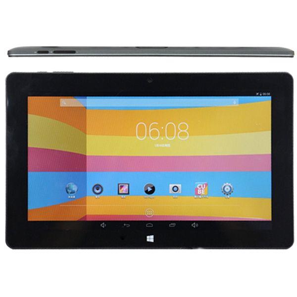 "10,6 ""Cube i10 Windows Tablet dupla bota Android 4.4 2 GB RAM 32 GB ROM Quad Core Intel Z3735F WIFI Bluetooth"