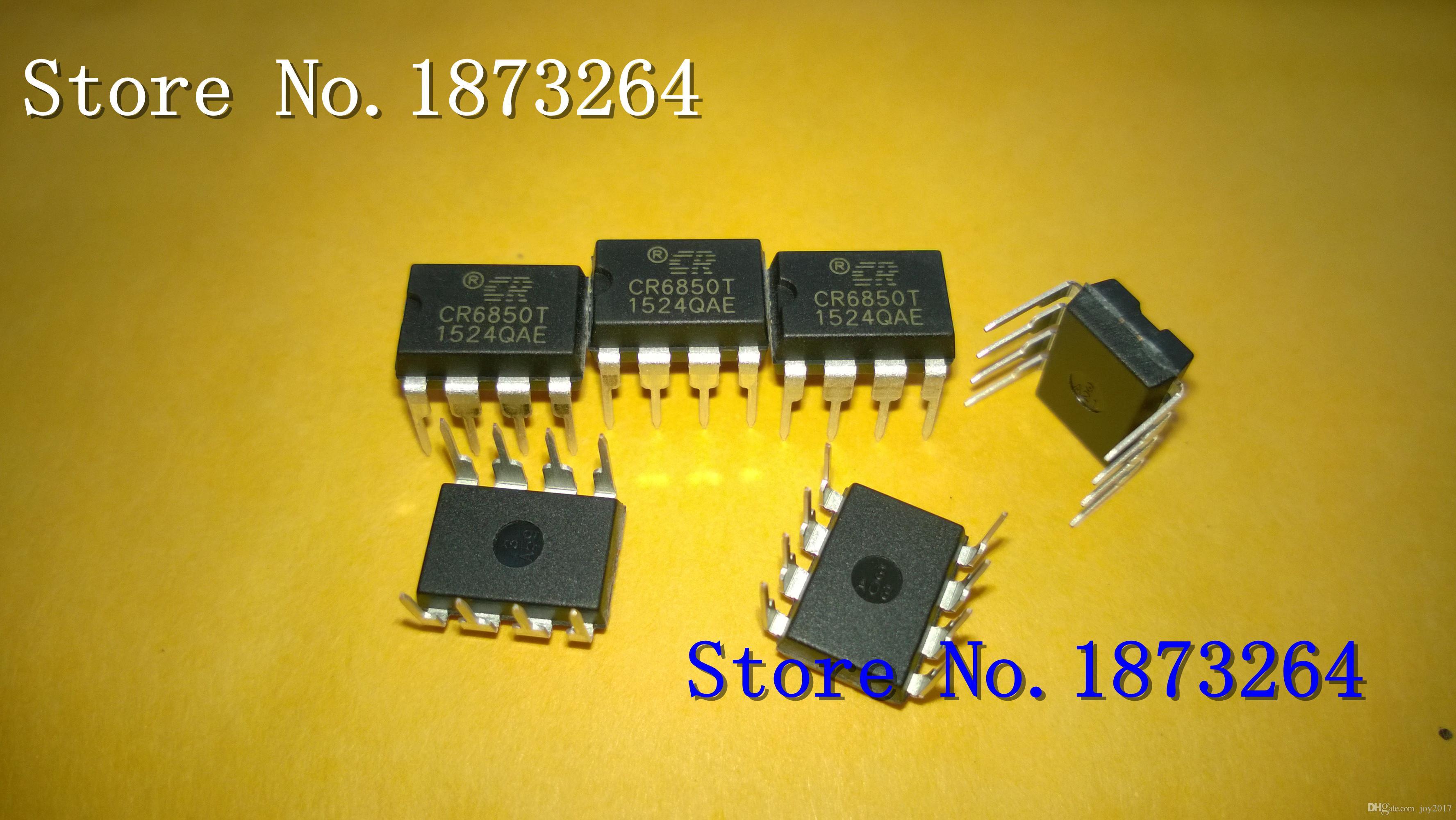 Livraison gratuite CR6850T CR6850 DIP8 original et neuf en stock 50PCS / LOT