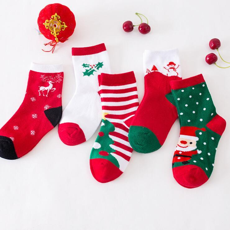 Boys Christmas Socks.2019 Christmas Socks 2018 Christmas Gifts New Style Sports Socks Boys And Girls Cute Christmas Stockings For Kids High Quality From Outdoorsportssell