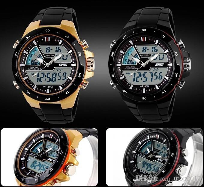 65e0cfaf4 ... Utop2012 Women Sports Watches Waterproof Fashion Casual Quartz Watch  Digital Analog Military Multifunctional Women's Wrist Watches ...