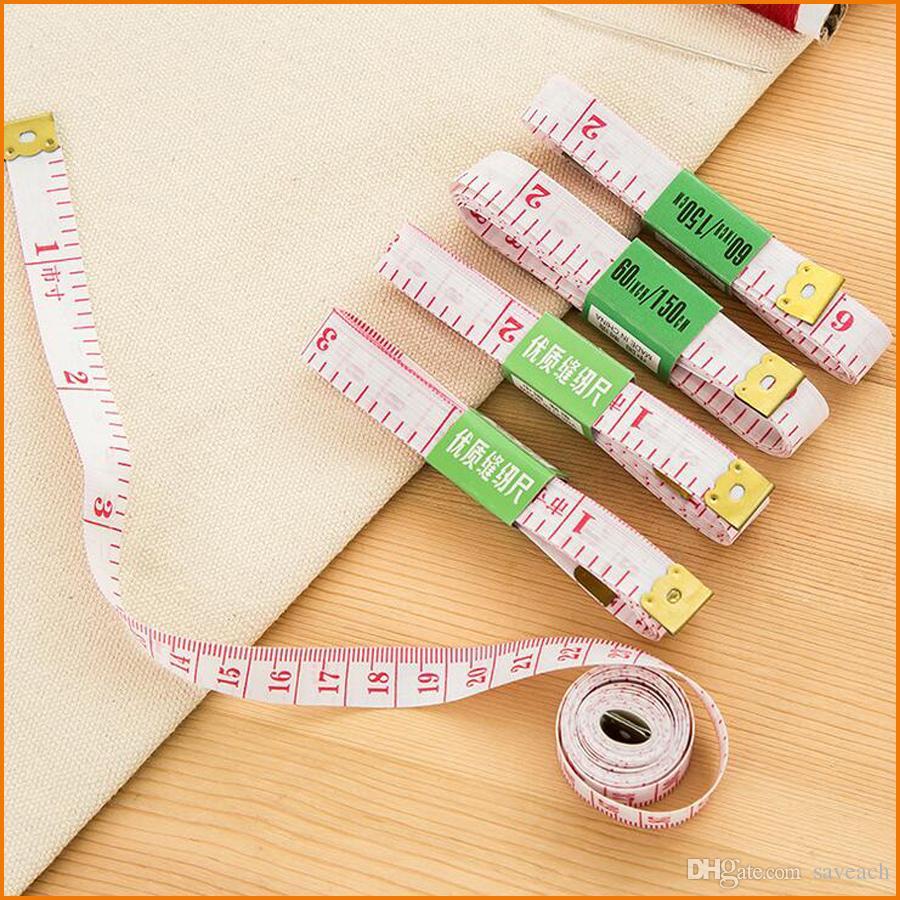 (60 дюймов / 1.5 м) тело измерения линейка, швейная портная лента, мера измерения мягкая плоская лента бесплатная доставка
