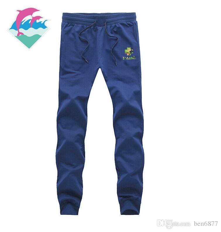 9887 s-5xl spedizione gratuita pantaloni casual da uomo nuovi di moda pantaloni da jogging rosa delfino per atletica leggera