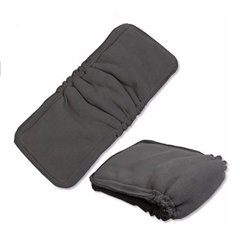 5 Les couches 1 PCS charbon de bambou de couches en tissu de coton Inserts matelas à langer Couche pour bébé Couches matelas à langer couche réutilisable