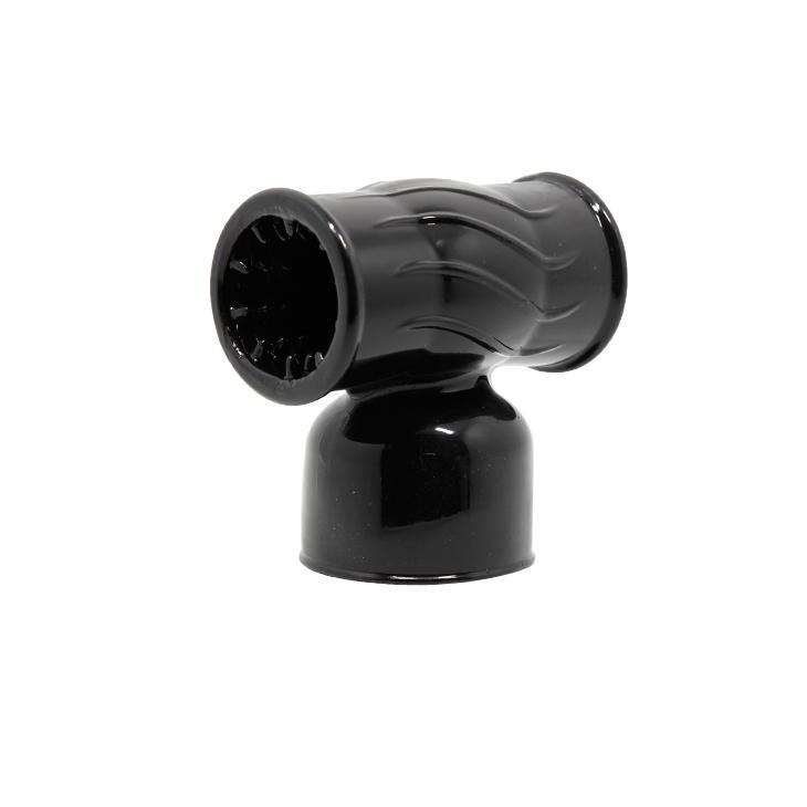 여자 섹스 제품에 대한 새로운 도착 성 장난감 AV 마사지 스틱 Masturbator 섹스 기계 PY606 q171124에 1 PC의 헤드 커버 진동 램프