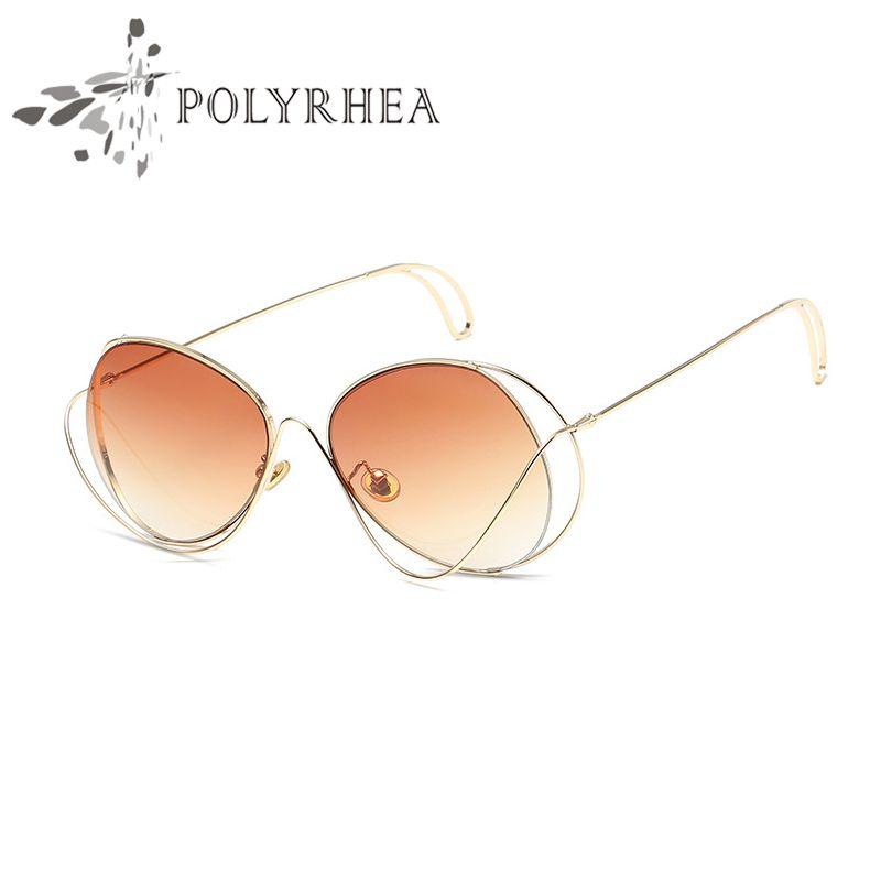 2019 luxo polarizada óculos de sol piloto moda óculos de sol para homens e mulheres marca designer óculos de sol com óculos polarizados vintage