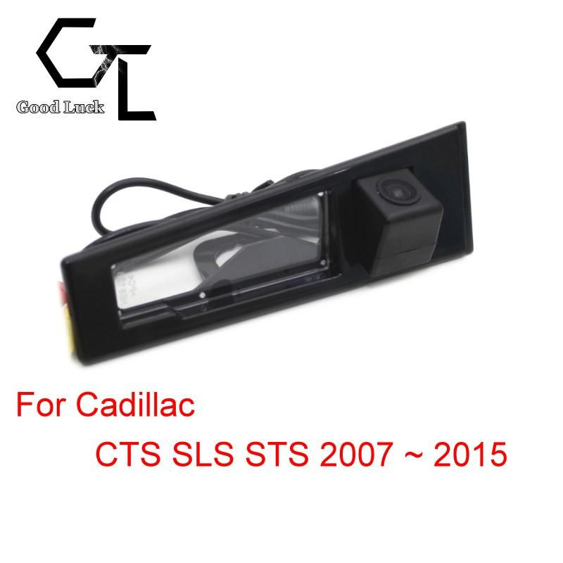 For Cadillac CTS SLS STS 2007 ~ 2015 Wireless Car Auto Reverse Backup CCD HD Night Vision Rear View Camera