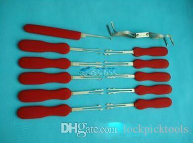 Outils de serrurier, Broches de crochet en ciseaux HUK pour verrouillage automatique, Outil pour ouvrier rapide - 12 pièces / paquet, Fournitures de serrurier