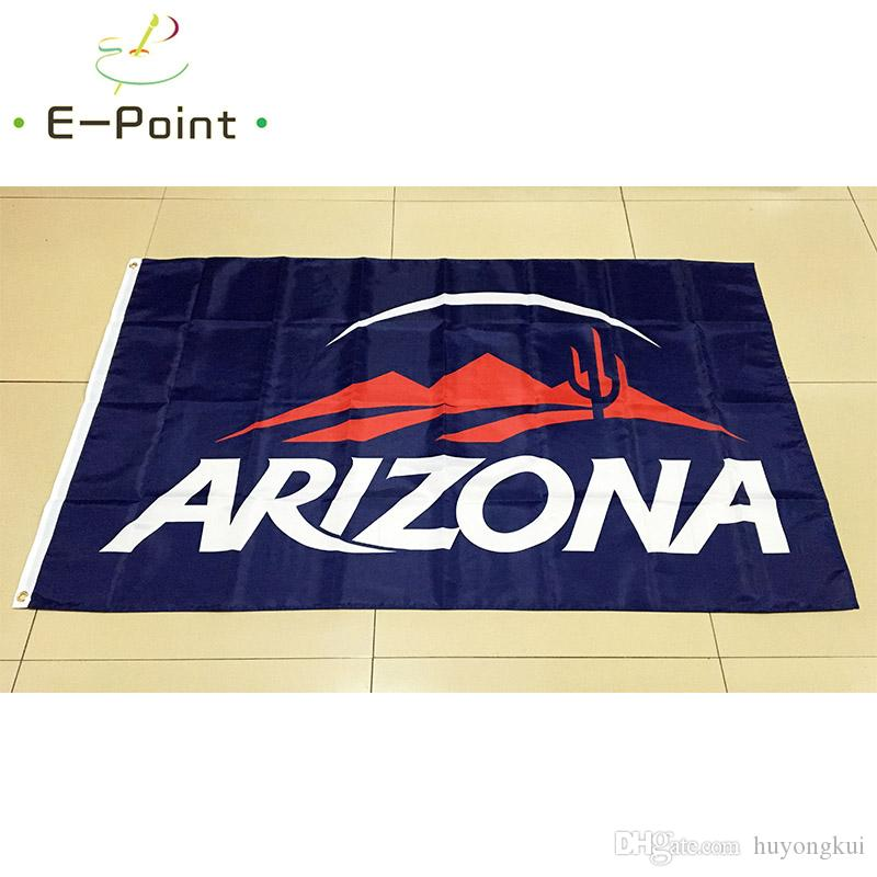 NCAA University of Arizona Wildcats Team Polyester Flagge 3ft * 5ft (150cm * 90cm) Flagge Banner Dekoration fliegen nach Hause Garten Geschenke