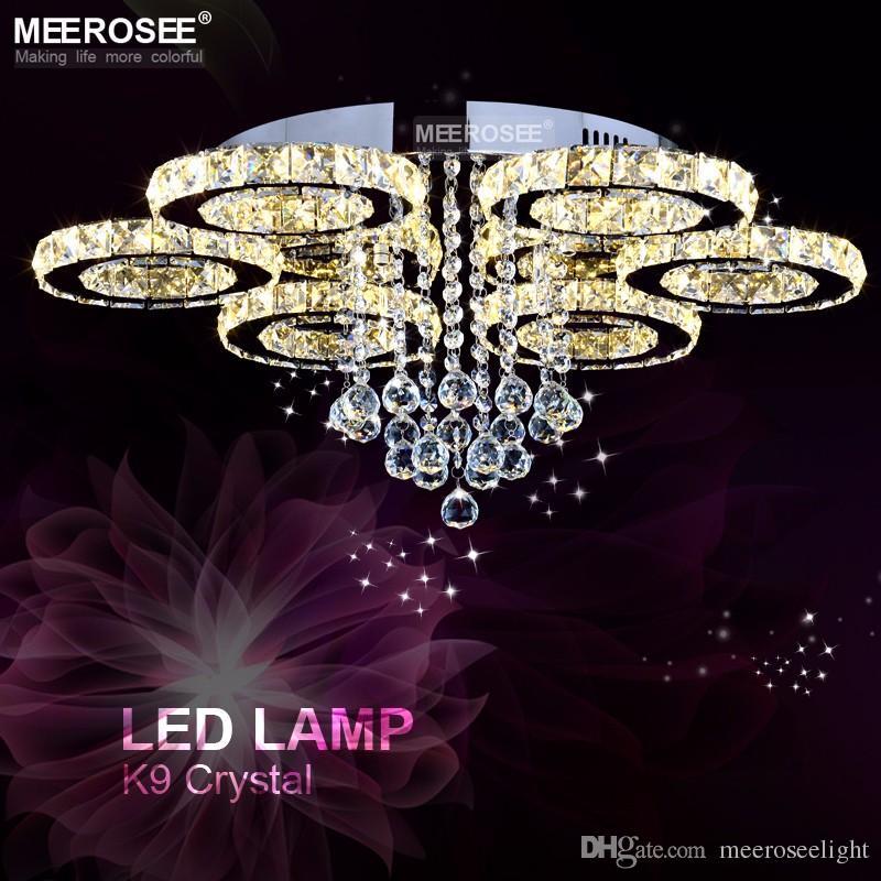 Lámpara de techo moderna Lámpara de techo LED Iluminación Lámpara de techo montada en cristal Iluminación de comedor Lámpara de descenso LED Home Fitting