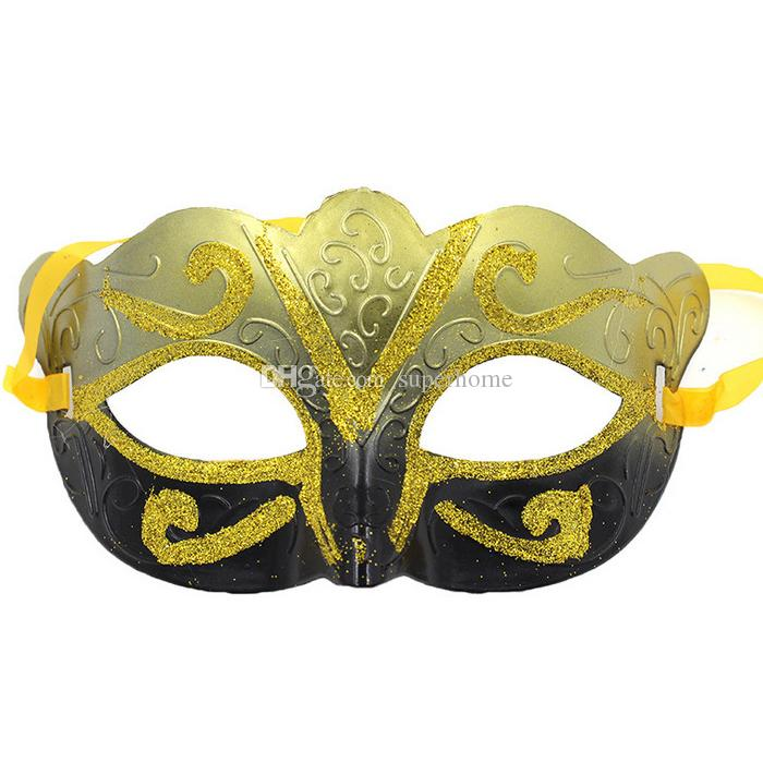 Halloween Masks for Adults Venetian Masquerade Mask Halloween Mask Sexy Carnival Dance Mask Cosplay Fancy Wedding Gift Free Shipping