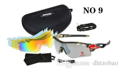 Brand summer men Bicycle Glass polarized camouflage glasses outdoor cycling sport sunglasses with case 5 groups of lenses free shipping