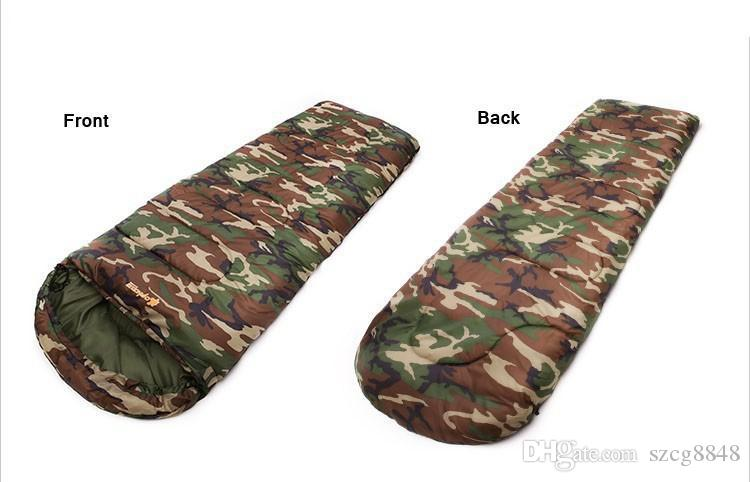 Супер качество кемпинг спальный мешок 190 * 75 см Тип ткани флис спальные мешки кемпинг с Компрессионный мешок кемпинг оборудование