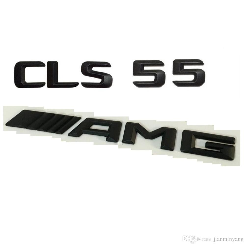 Chrome Letters CLS55 Trunk Lid Rear Emblem Badge for Mercedes Benz AMG CLS-CLASS