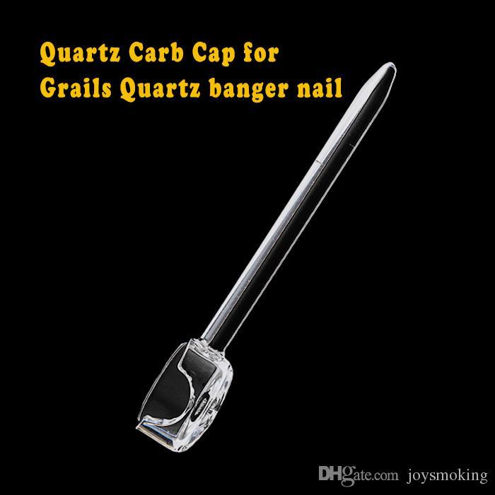 걸이 1 개의 에어 홀 한덩어리 의장을 가진 석영 Enail16mm20mm 를 위한 석영 소음이 나는 고물 모자