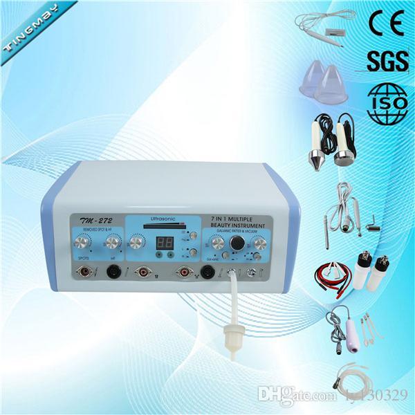 Macchina facciale ultrasonica ad alta frequenza di ionoforesi galvanica della macchina di cauterio multifunzionale TM-272
