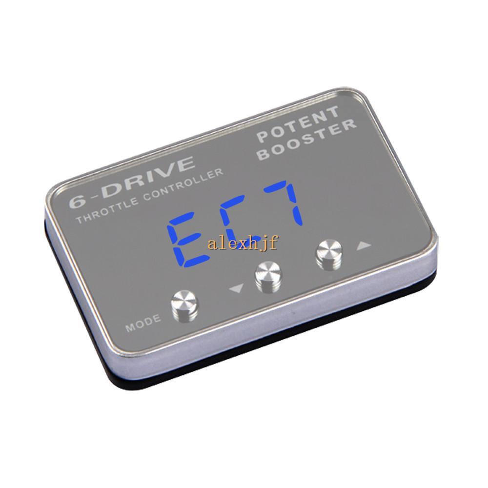 جهاز التحكم الإلكتروني الداعم Potent Booster II 6 Drive ، حقيبة TS-801 لنيسان تيدا سيلفي ماكسيما صني براري XTRAIL Renault koleos etc
