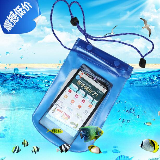 Mobile Phone Waterproof Pouch Bag Case Cover Underwater Touch Water Proof Phone Accessories&Parts Outdoor/Travel/Sport Free shipping
