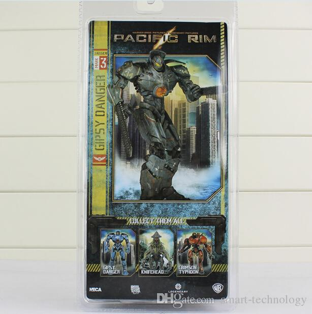 NECA Pacific Rim Jaeger Tacit Ronin and Gipsy Danger PVC Action Figure Collection Toy 2 styles Free Shipping
