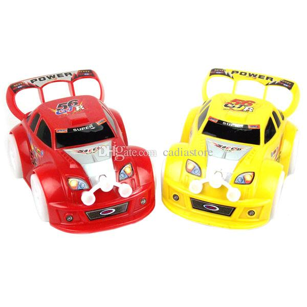 toy kids boys girls cool racing car music electric red yellow new good a00054 smad