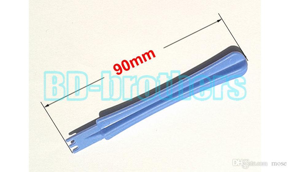 90mm eingekerbtes blaues Plastikdreißiger Hebungs-Werkzeug, weckende Werkzeuge Brecheisen-Öffnungs-Werkzeuge öffnen Shell-Reparatur-Werkzeug für Handy-Großhandel 5000pcs / lot