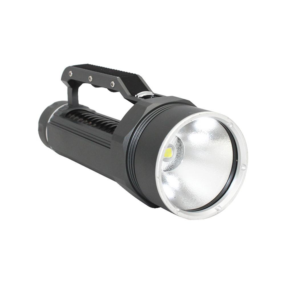 KC Fire New Diving Flashlight Torch CREE XHP70 LED High Brightness White Light 5000 Lumens Underwater 100M Waterproof DL0059G