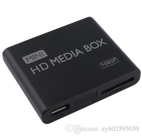 Mini Media Player Media Box TV Video Multimedia Player Supporto Full HD 1080p MPEG / MKV / H.264 HDMI AV USB