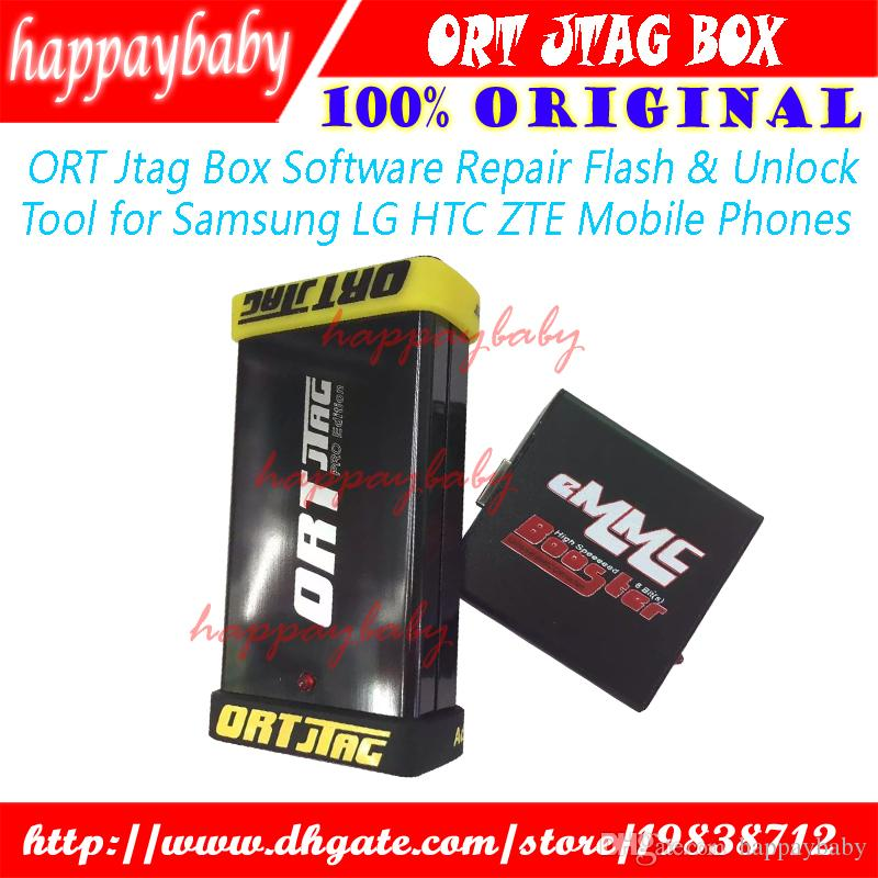 100% Original ORT Jtag Box Software Repair Flash & Unlock Tool For Samsung  LG HTC ZTE Mobile Phones Cell Phone Repair Tools Suppliers Cell Phone