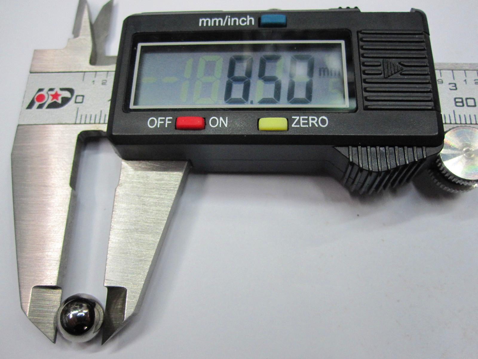 8,5 8.5 mm Rodamiento de bolas Bola de acero Diámetro de bola 8.5mm 10pcs / set Precisión: G10-Grade 8.5mm