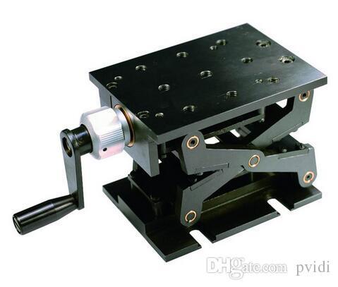 PT-SD1703M 정밀 수동 리프트, Z 축 수동 랩 잭, 수직 이동 스테이지, 엘리베이터, 광학 슬라이딩 리프트, 94mm 이동