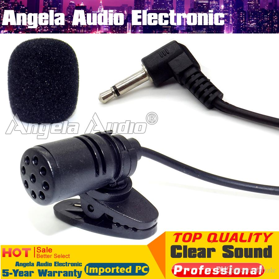 Pulse MIC-500X3 Lavaliere-Mikrofon mit 3-poliger Mini-XLR-Buchse Schwarz