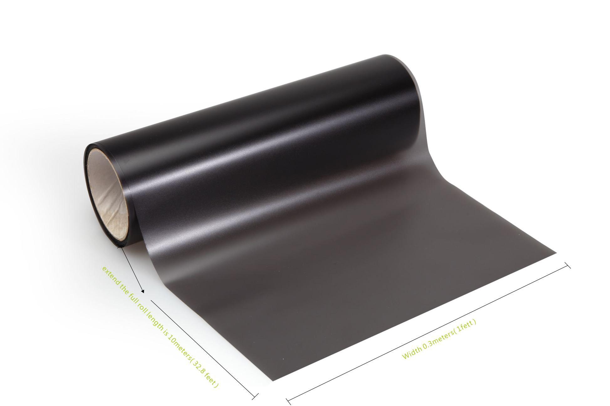 4 Rollen / Los matter schwarzer Rauch Auto-Scheinwerfer, die Scheinwerfer-Tönungsfilm-Schwarzrauchtönung bedecken Vinyl, das 0.3x10m DHL-freies Verschiffen bedeckt