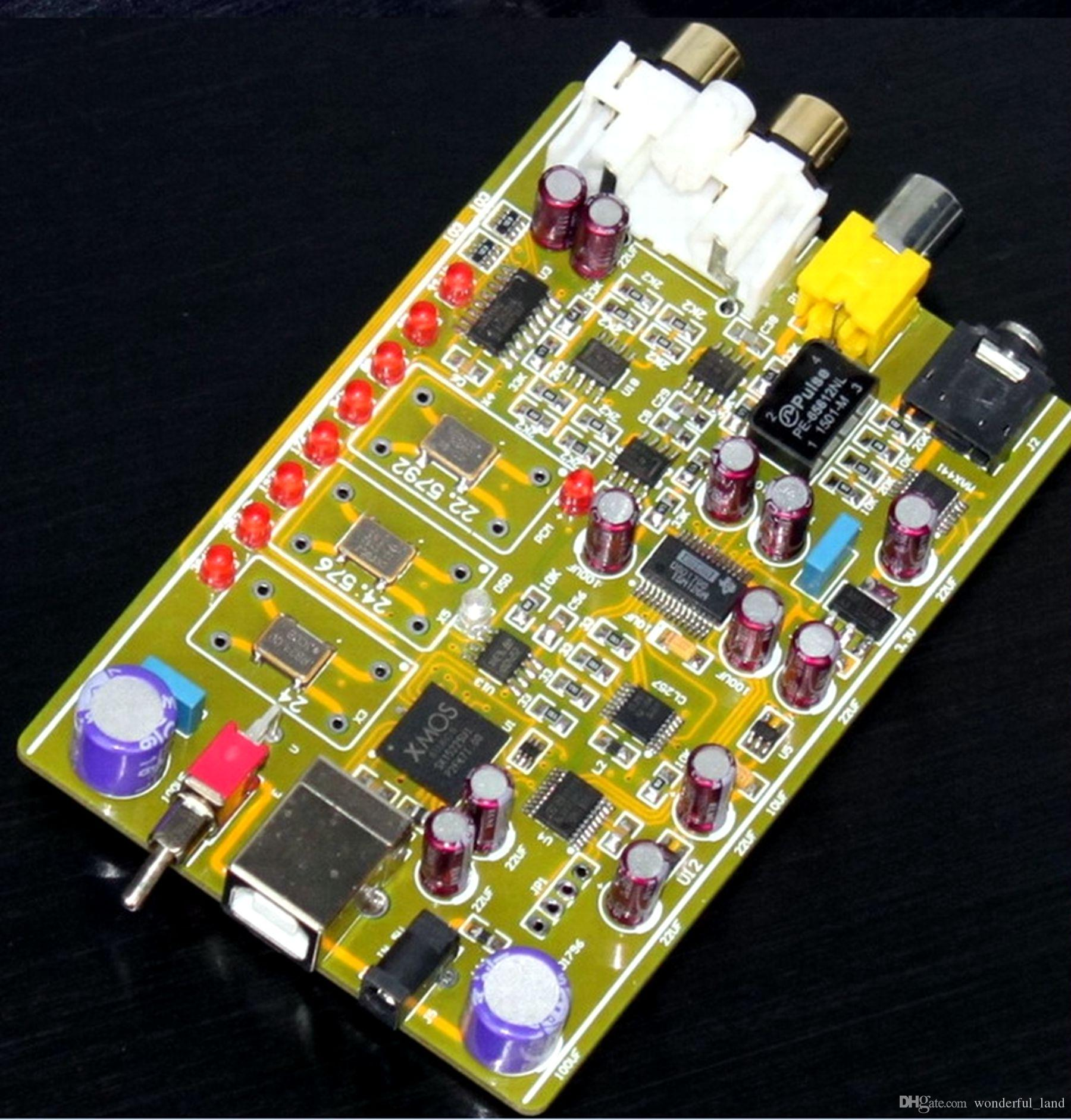 Online Cheap Dsd1796 Xmos U8 Decoders Can Play Dsd64 Dsd128 Oz Aerosol Electronics Circuit Components Printed Boards Dsd256 Format Music By Wonderful Land Dhgatecom
