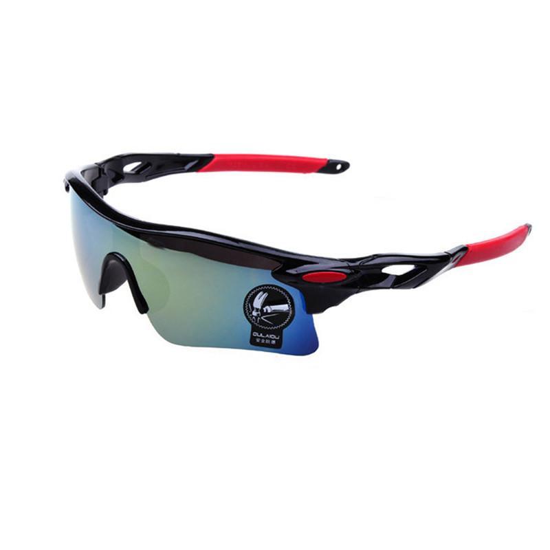 Großhandelsmänner Brille UV400 Outdoor Sports winddicht lunette cycliste Brillen Frauen Mountainbike Fahrrad Motorrad Brille Sonnenbrillen