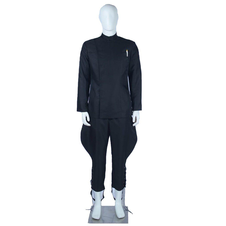 Cappotto da uomo casual Harem Pants Long Black