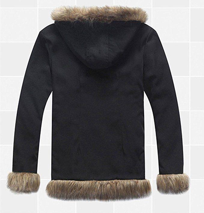 Orihara Izaya Fur Collar Coat Jacket T-Shirt Cosplay Costume Anime DuRaRaRa!